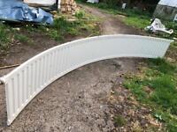 3.4m curved radiator