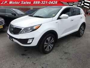 2013 Kia Sportage EX, Automatic, Leather, Sunroof, Heated Seats,