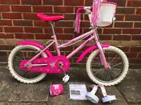 Sparkle n glitz girls bike