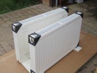1000W x 600H double convector panel white radiators