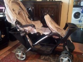 Graco tandem double pushchair
