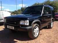 1999 LAND ROVER DISCOVERY 2.5TD MOT JULY 2017! NEW PAINTWORK!