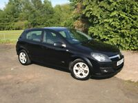 Vauxhall Astra, 1.6 SXI Twinport, 5 dr black, SPARES OR REPAIRS