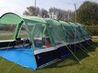6 berth family tent
