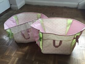 Bedroom set, Next, curtains, duvet cover, two storage bags