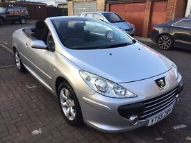 2005 Peugeot 307 CC 2.0 16v S 2dr Full Service History 1F KeeperHPI Clear @07445775115@ 07725982426@