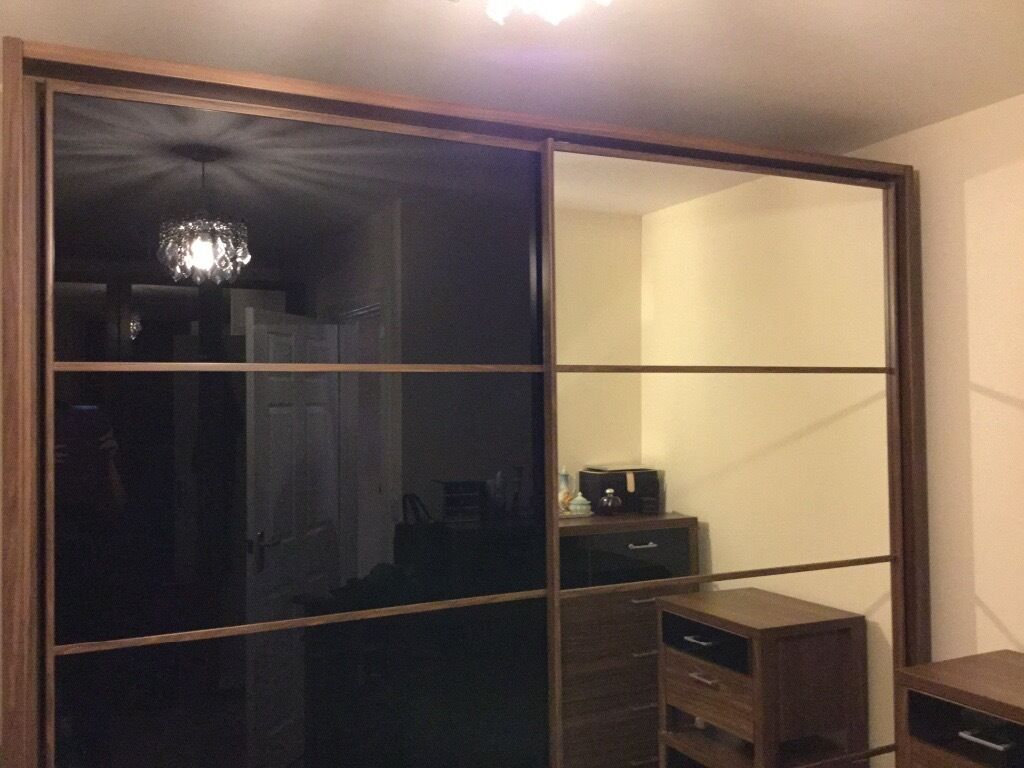 Free Standing Sliding Door Wardrobe In Seaton Delaval Tyne And