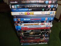 Job lot 18 DVDs