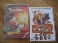 Two new Finnish DVD's: Mickey Mouse and Herra Heinämäki ja Lato orkesteri