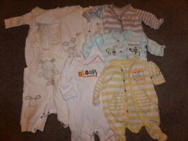 Unisex tiny baby clothes