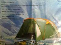 6 Man tent and gas cooker plus more