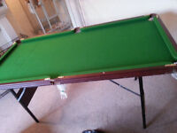 Pool Table 6ft Long - DELIVERY AVAILABLE