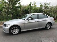 BMW 320D SE DIESEL SALOON FULL BMW SERVICE RECORD SAT-NAV CLEAN CAR 2007