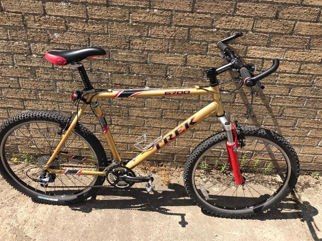 Trek 6700 slr mountain bike great spec serviced free d lock