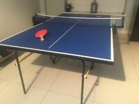 Debut 3/4 size table tennis table