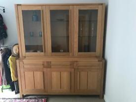 M&S Sonoma 3 door sideboard & 3 door glazed top
