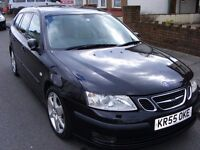 SAAB 9-3 VECTOR SPORT - 1.9TiD (150 BHP) - DIESEL ESTATE - AUTOMATIC - FLAPPY PADDLES