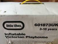 Little tikes inflatable Victorian playhouse