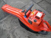 HUSQVARNA 225BV PETROL DRIVEN LEAF COLLECTOR AND BLOWER