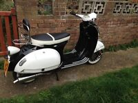 Ajs Modena 125 with lots of extras like Vespa & lambretta lots of money spent