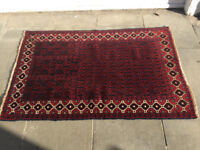Baluchi Prayer Style Rug, in good condition. Size L 138cm x W 88cm.