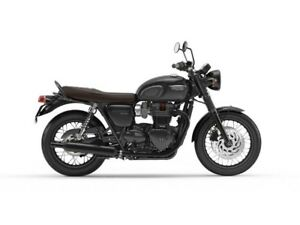 2018 Triumph Bonneville T120 Black 0% OVER 48 MONTH OAC