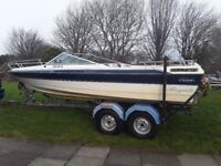1998 PICTON ROYALE 200 GTS SPORTS SPEED BOAT PROJECT SNIPE TRAILER