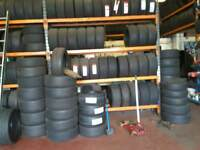 Tyres New and part used