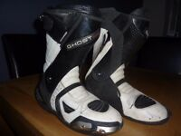 motorcycle race boots size 9
