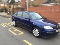 Vauxhall Astra 1.4 low mileage