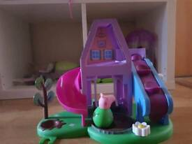 Peppa pig's playhouse