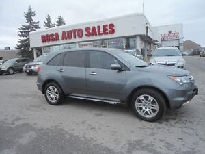 2009 Acura MDX Tech Pkg LEATERSEATS SUNROOF  NAVIGATION