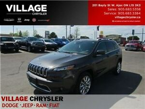 2016 Jeep Cherokee Limited LOW KMS TEC&SAFTY BACKUP CAM LEATHER