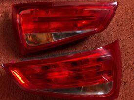 Audi A1 rear lights-Pair non-LED