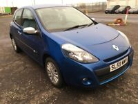 2010 Renault CLIO 1.2 I-Music , mot -March 2019 , only 67,000 miles ,corsa,fiesta,punto ,c3,polo,207