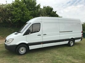 MERCEDES SPRINTER 313 CDI LWB DIESEL 2013 63-REG *CHOICE OF 2* FULL SERVICE HISTORY DRIVES EXCELLENT