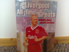 Liverpool All Time Greats Hardback book. 1968-1997 VGC LFC Book football players info facts