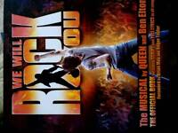 We Will Rock You - Script and Lyrics £3