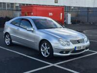 2006 Mercedes Benz c160 Sport Edition 1.8 Coupe petrol Full Auto Mot 54k genuine Mileage ready to go