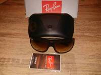 Rayban - rectangular RB4120 714/51 Dark brown as new condition