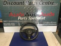 Audi A3 8P complete steering wheel with airbag
