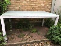 Garden table £30