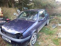 Ford fiesta spares or repair