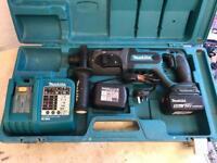 Makita 18v lithium LXT SDS drill