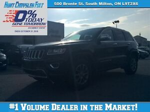 2016 Jeep Grand Cherokee LIMITED WITH TONS OF OPTIONS!!! SUNROOF