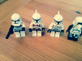 Lego Star Wasr Storm Troopers x 4 characters
