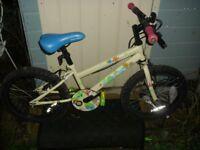 Woodland Charm children's beginner bike, originally from Halfords