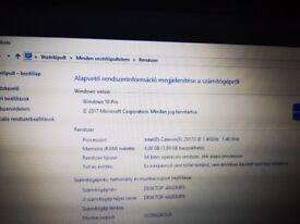 Lenovo g50-70 15.6inch laptop black Intel pantium 2.16ghz 4gb ram. 500gb HD