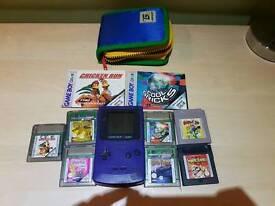 Gameboy colour plus games