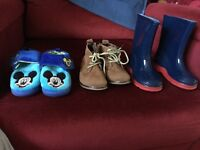 3 Pair baby boy shoes size 5/6 for sale